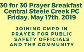 May 17th Prayer Breakfast