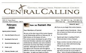 2020  February Newsletter