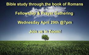 Online Bible Study Wednesdays